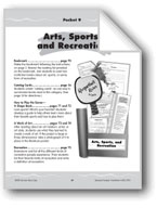 Literature Pockets: Nonfiction: Arts, Sports, and Recreation