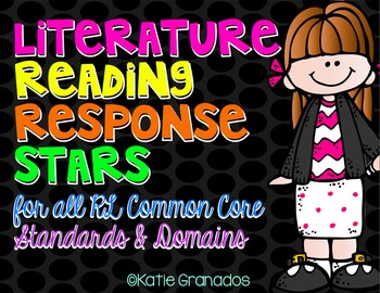Literature Reading Response Stars | Guided Reading Questio