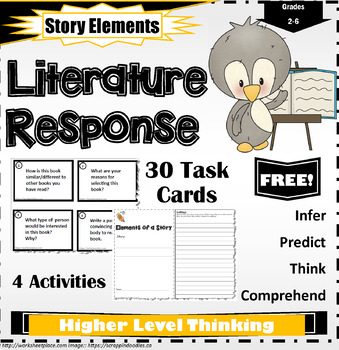 Literature Response Task Cards