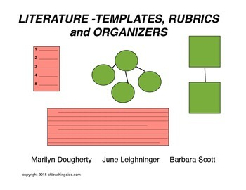 Literature - Templates, Rubrics & Organizers for Plot, The