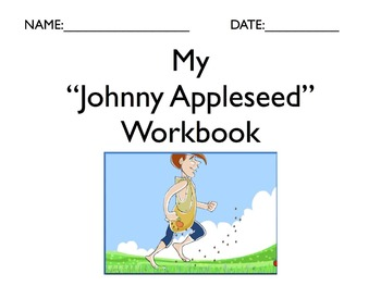 """Literature Unit: """"Johnny Appleseed"""" with Workbook"""