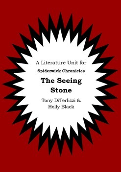 Literature Unit - THE SPIDERWICK CHRONICLES - THE SEEING S