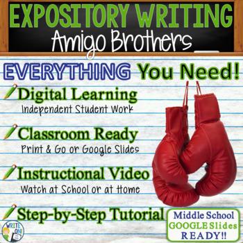 Amigo Brothers by Piri Thomas - Text Dependent Analysis Ex