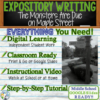 The Monsters are Due on Maple Street Prompt 2 - Text Analy