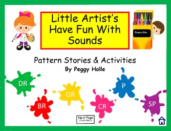 Little Artists Have Fun With Sounds Speech Therapy P SP CR