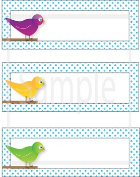 Little Bird Labels