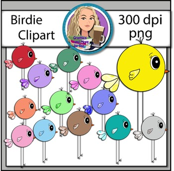 Bubble Bird Clipart