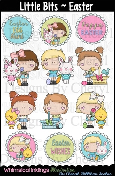 Little Bits Easter Clipart Collection