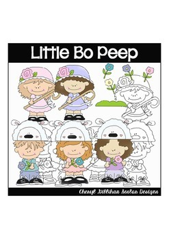 Little Bo Peep Clipart Collection