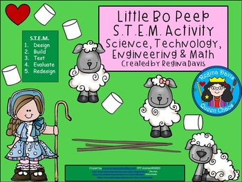 Little Bo Peep STEM Science, Technology, Engineering & Mat