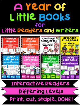 Little Books for Little Readers and Writers - Bundled Set