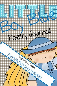 Little Boy Blue Poetry Journal