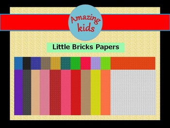 Little Bricks Papers Vol 2 *FREE*