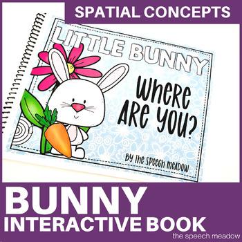Little Bunny Preposition Interactive Book