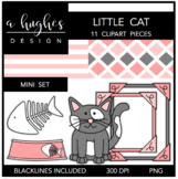 Little Cat Mini Set {Graphics for Commercial Use}