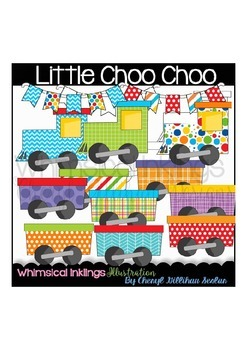 Little Choo Choo Train Clipart Collection
