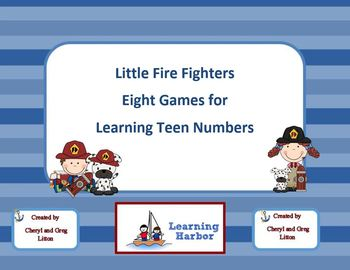 Little Fire Fighters Eight Games For Teaching Teen Numbers