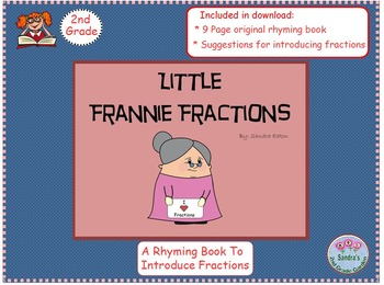 Little Frannie Fractions Book. Introduction to Fractions /