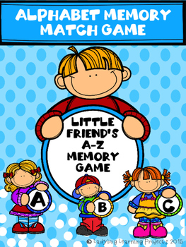 Little Friend's Alphabet Memory Match Game