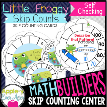 Little Froggy Skip Counts - Write n' Wipe Center & Recordi