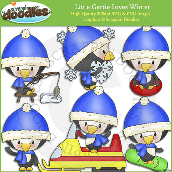 Little Gertie Loves Winter