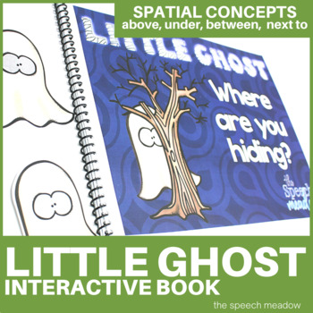 Little Ghost Where are you? Interactive Preposition Story