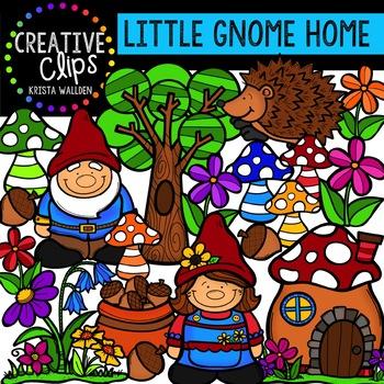 Little Gnome Home {Creative Clips Digital Clipart}