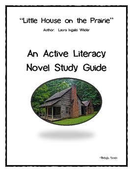 Little House on the Prairie Active Literacy Novel Study