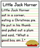 Little Jack Horner Anchor Chart {FREEBIE}