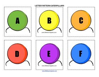 Little Learning Labs Primary Prek Pattern Caterpillars - L