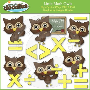 Little Math Owl