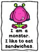 Little Monster Sight Word Readers