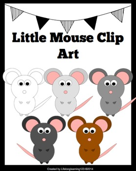 Little Mouse Clip Art