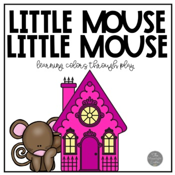 Little Mouse Flannel Board Story with Positional Word Acti