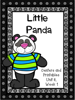 Little Panda, Centers and Printables, Unit 3, Week 1, Kind