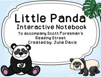 Little Panda Interactive Notebook Journal