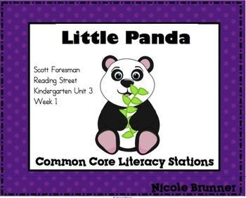 Little Panda Reading Street Unit 3 Week 1 Common Core Lite