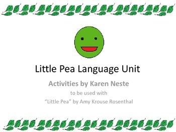 Little Pea Language Unit- Vegetables theme, basic perspect