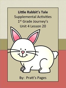 Little Rabbit's Tale 1st grade Supplemental for Journey's