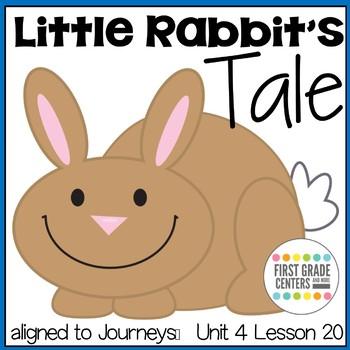 Little Rabbit's Tale: Journeys First Grade Unit 4 Lesson 20