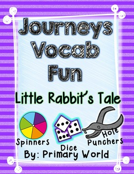 Little Rabbit's Tale, Journeys First Grade Unit 4 Lesson 2