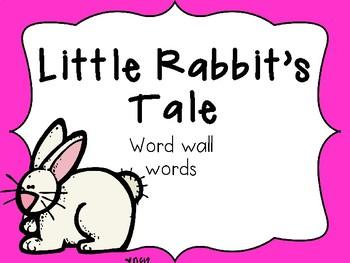 Little Rabbit's Tale PowerPoint