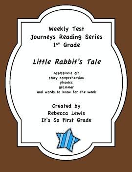 Little Rabbit's Tale Journeys Assessment
