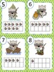 Little Raccoon Write the Room Ten Frames