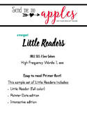 Little Reader FREEBIE - I See Colors