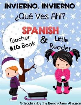 Little Reader with Teacher Book- Winter, Winter, What Do Y