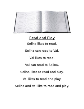 Little Readers: Read and Play