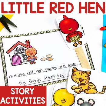 The Little Red Hen Literacy Activities