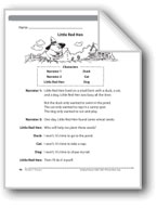 Little Red Hen (A Readers' Theater script)