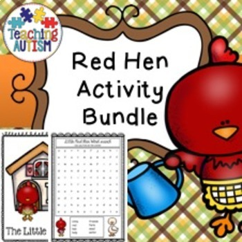 Little Red Hen Activity Bundle